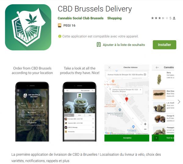Bruxelles : Livraison de CBD à domicile avec CBD Brussels Delivery